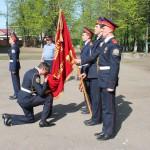 Торжественное построение Шереметевского кадетского корпуса.