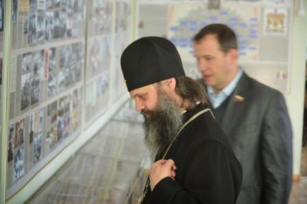 Митрополит Иваново-Вознесенский и Вичугский Иосиф посетил Кадетский корпус