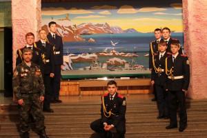 Межрегиональный слет команд победителей оборонно-спортивных игр в городе Мурманске