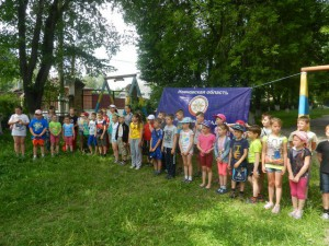 В школе № 43 для детей проведена военно-спортивная эстафета