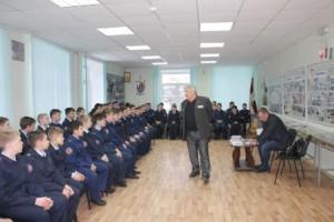 Встреча кадет ИВГШКК с писателями!