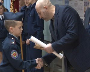 9 декабря 2016 г. в кадетском корпусе прошло торжественное построение посвященное «Дню героев Отечества».
