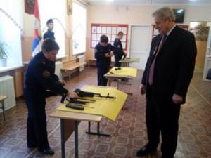 Смирнов Юрий Валентинович посетил Кадетский корпус