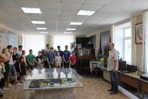 Сегодня наш кадетский корпус посетили инспектора ОДН с лагерем дневного пребывания.